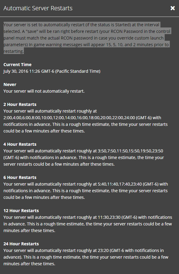 ARK: Control Panel Feature Requests - Page 9 - ARK: Survival